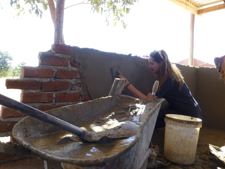 Zimbabwe 2015 Orphanage Chicken Coop Construction It